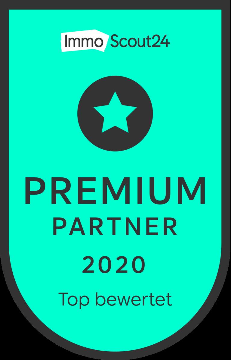 ImmoScout24 Premium Partner 2020 Heymanns Immobilien