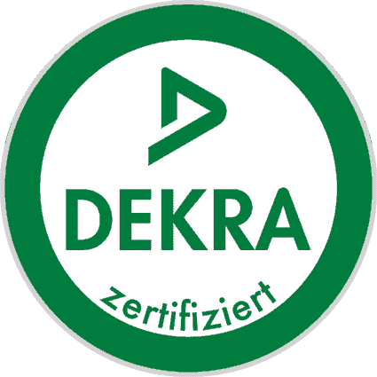 Robin Gotzen: DEKRA zertifiziert